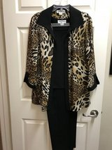 Danny & Nicole 3 Piece Pant Suit Size 14 in Kingwood, Texas