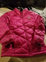 North face down coat girls in Naperville, Illinois