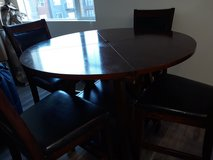 Alpine Counter Height Extendable Dining Table / Counter Height Dining set in Camp Lejeune, North Carolina