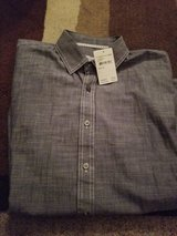 New with tags mens size large button down shirt in Vacaville, California