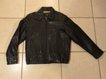 Dockers Lamb Leather Jacket Men's Size M EUC Super Soft in Vacaville, California