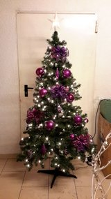 Cristmas Tree 6 ft Pre Light 110V (no decor) in Ramstein, Germany