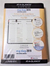 """AT-A-GLANCE Harmony Daily/Monthly Planner Refill 5-1/2"""" x 8-1/2"""" 6099-4311 in Oswego, Illinois"""