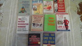 Health Related  Soft Cover Books Diabetes Weight Loss/Diet  Lower BP Vitamins/Medications in St. Charles, Illinois