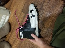 Under Armour cleats in Camp Pendleton, California
