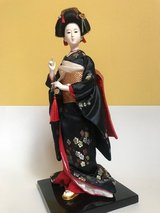 Japanese Geisha doll in Lockport, Illinois