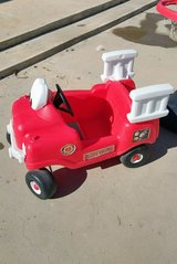 little tikes fire truck in 29 Palms, California