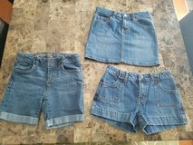 Girls Shorts and Skirt, Size 12 and 10 in Clarksville, Tennessee