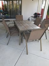 Lounges and Patio Table with 6 Chairs in Vacaville, California
