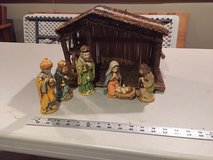 Nativity Scene in Aurora, Illinois