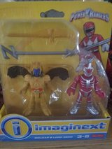 Imaginext power rangers new in box in Shorewood, Illinois