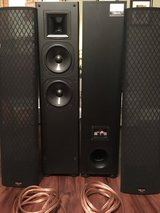 Klipsch SF-2 floor standing speakers in Warner Robins, Georgia