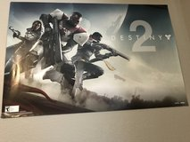 DESTINY 2 game poster double sided in Fort Bliss, Texas