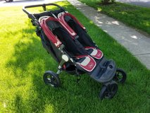 City Elite Double Stroller in Aurora, Illinois