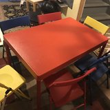 EUC KIDS TABLE & Chairs in Aurora, Illinois