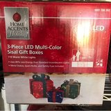 Gift boxes for Christmas (led) in Lake Elsinore, California