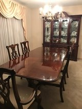Dining Room Table, Chairs, and Hutch in Wheaton, Illinois