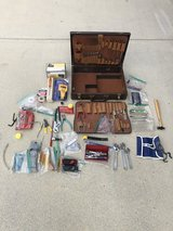 Tools and Leather bound tool case in Camp Lejeune, North Carolina