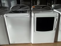WHIRLPOOL CABRIO TOP-LOAD WASHER & DRYER in Fort Bragg, North Carolina