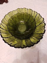Salad Bowl with 2 Serving Bowls - Glass in Kingwood, Texas