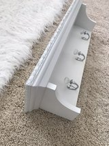 Shabby chic white shelf-Target in Camp Pendleton, California