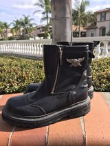 women's only worn once Harley Davidson Motorcycle boots in Camp Pendleton, California