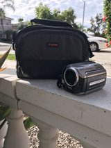 Never been used JVC camcorder and cannon carrying case in Camp Pendleton, California