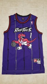 Tracy McGrady Toronto Raptors NBA Jersey in Aurora, Illinois