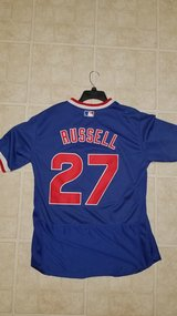 Addison Russell Chicago Cubs Vintage Throwback Jersey in Aurora, Illinois