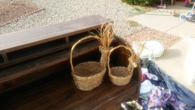 2 reindeer baskets in Alamogordo, New Mexico