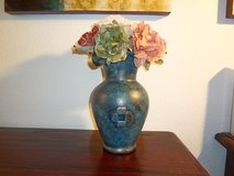Vase with Flowers- Handcrafted in Baumholder, GE