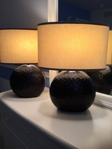 Table lamps includes shades in Aurora, Illinois