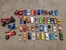 47 pcs Hot Wheels , Cars , Motorcycle, bikes Lot in Fort Campbell, Kentucky