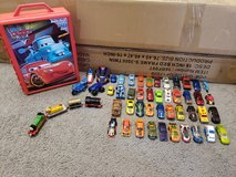 51 Pcs Hot Wheels Cars , Train and Storage Lot in Fort Campbell, Kentucky