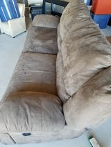 2 piece reclining brown sofas in Lackland AFB, Texas