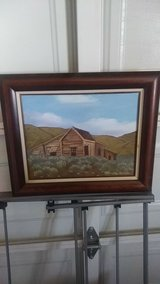 Oil Painting in 29 Palms, California