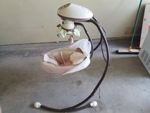 Fisher-Price Snugabunny Cradle with Smart Swing Technology for Baby in Fort Sam Houston, Texas