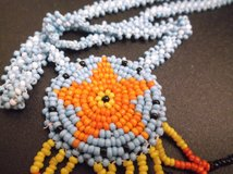 blue beaded necklace in Alamogordo, New Mexico
