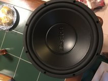 "Boston Acoustics 12"" Car Subwoofer in Okinawa, Japan"