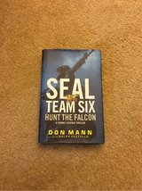 seal team six hunt the falcon hardcover book in Spring, Texas