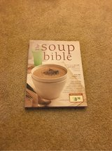 soup bible hardcover cookbook in Spring, Texas