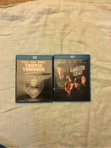 gangster squad and tropic thunder blu Ray set in Spring, Texas