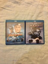 street fighter and heat blu ray lot in Kingwood, Texas