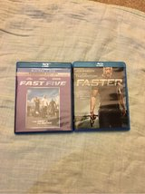 fast five and faster blu ray lot in Kingwood, Texas