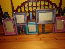 Family frame collage in The Woodlands, Texas