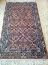 Vintage hand-knotted Carpet Rug about 165 X 94 cm in Wiesbaden, GE