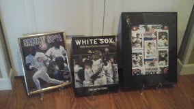 Chicago Cubs &White Sox's Framed Picture in Chicago, Illinois