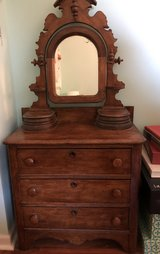 Antique dresser with mirror in Joliet, Illinois