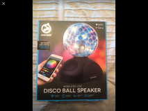Smart Tech Bluetooth Disco ball speaker in Vista, California