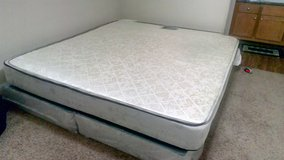 King size mattress with bed box in Phoenix, Arizona